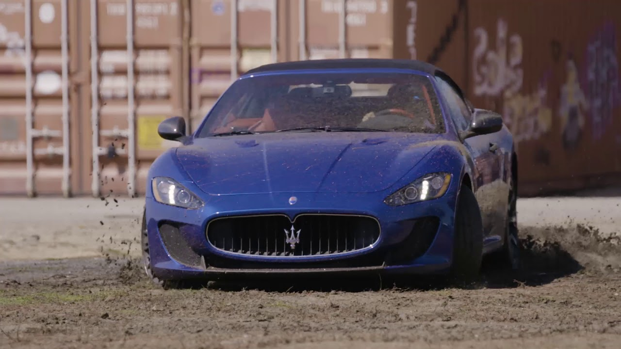 Maserati Muddy Super Car, Dirt Simple Telecom Tools