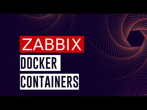 Zabbix 3.0/3.2/3.4/4.0/trunk quick deployment with docker - by Zabbix Cookbook