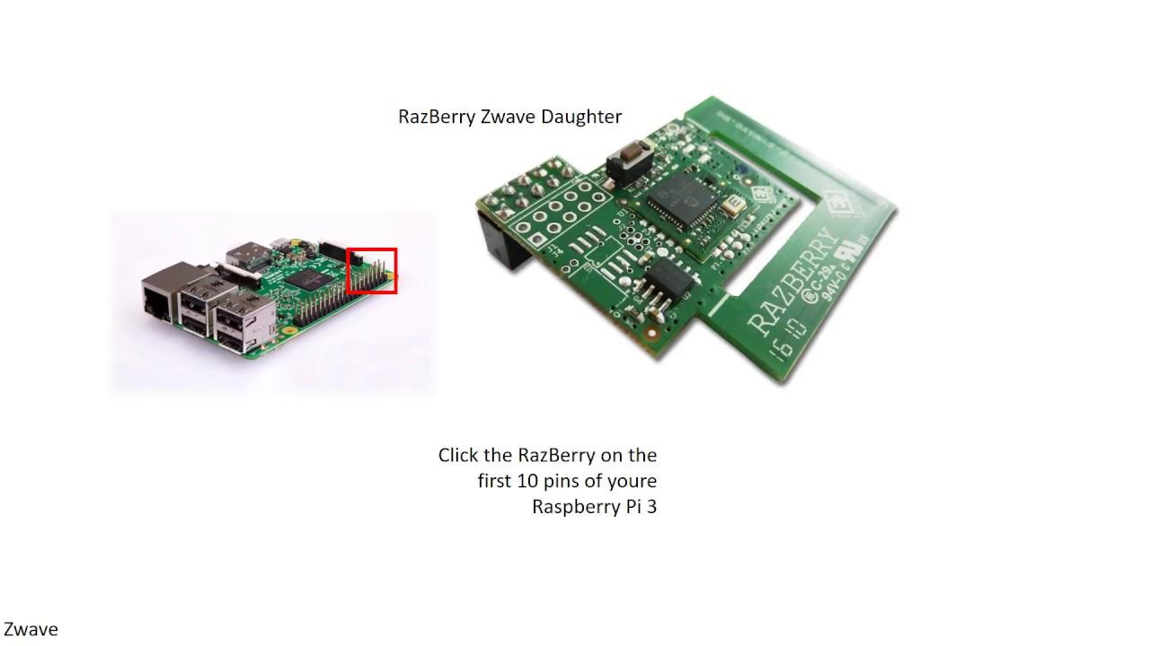 Zwave Raspberry Pi 3 Domoticz