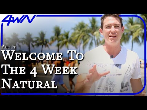The 4 Week Natural Program is LIVE! (4WeekNatural.com)