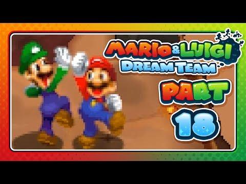 """Mario & Luigi: Dream Team - Part 18: """"THE NEW MASSIVE BROS"""""""