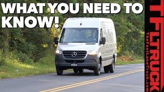 2019 Mercedes-Benz Sprinter Van Expert Buyer Review: Watch This Before You Buy One!