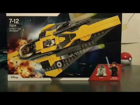 Lego Review #1 Anakin's Jedi Starfighter