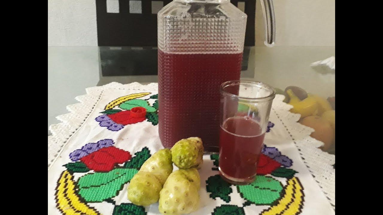Como se prepara el jugo de noni para adelgazar