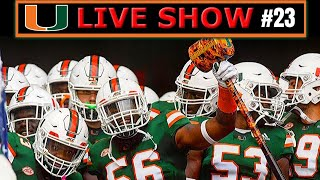 Miami Hurricanes Football LIVE (#23)