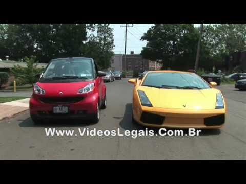 LAMBORGHINI Vs SMART CAR