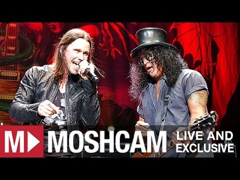 Slash ft.Myles Kennedy & The Conspirators – Back From Cali | Live in Sydney | Moshcam