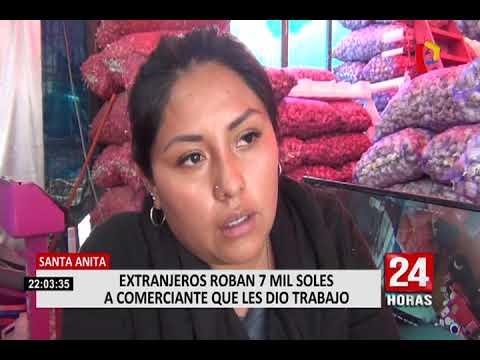 """VENEZOLANOS ROBAN 7 MIL SOLES A MUJER QUE LES DIO TRABAJO: """"LES DI LA MANO Y ME PAGAN ASI"""""""