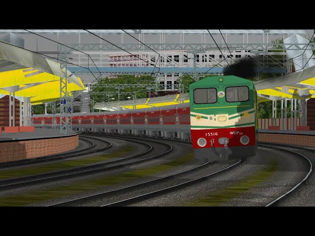 Shunting Duty || Chandigarh Railway Station || Indian Train