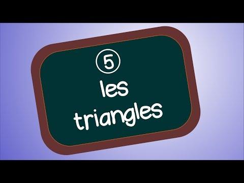 les triangles (géométrie 5)