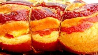 Рецепт холодного копчения грудинки и сала