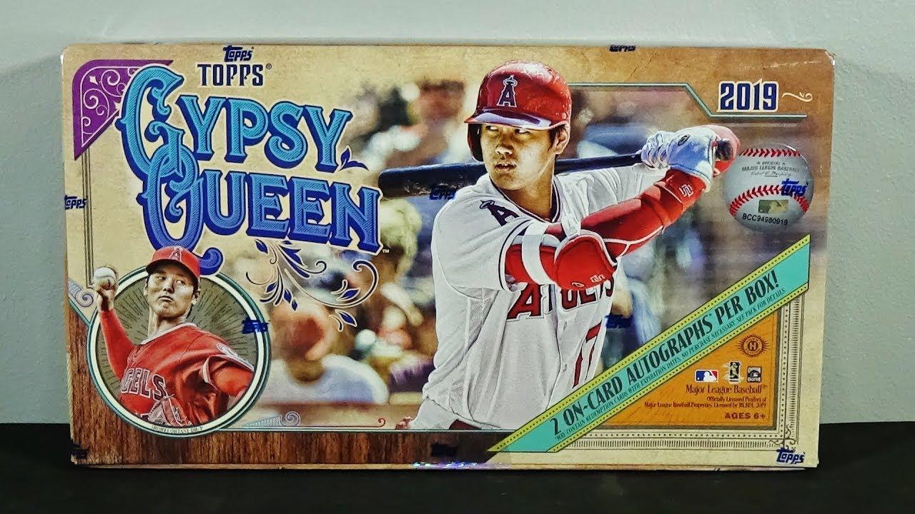 2019 Topps Gypsy Queen Baseball Hobby Box Break