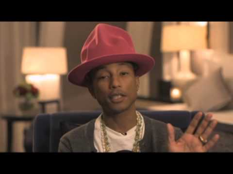 Pharrell talks hats and Daft Punk