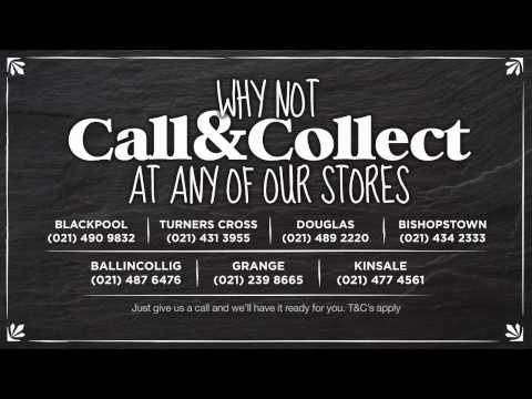 Dinos Call and Collect - Digital Signage