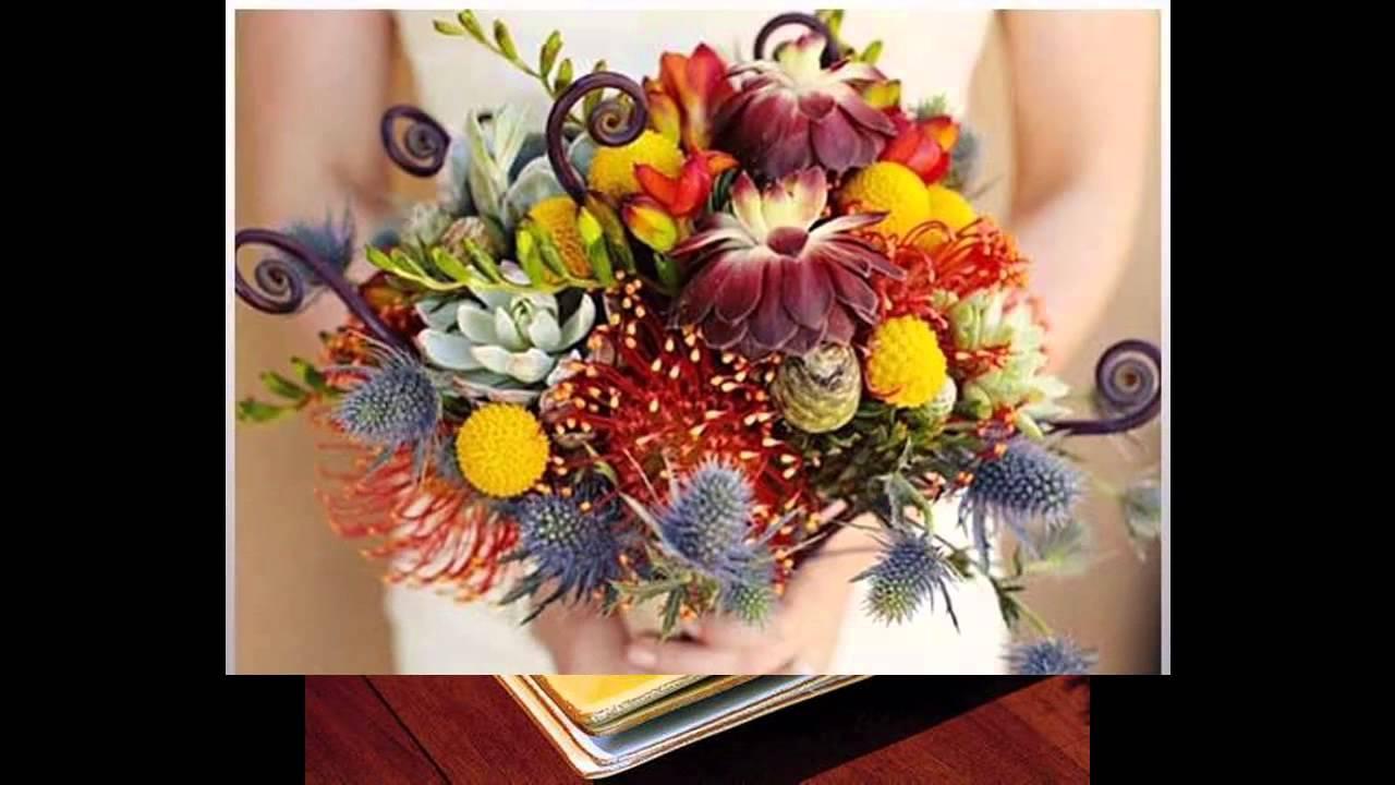 Fall flower arrangement ideas - YouTube
