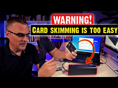 Credit card cloning is too easy!
