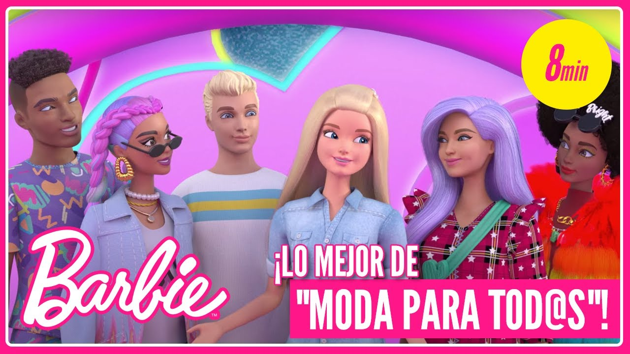 🍭 ¡LO MEJOR DE MODA PARA TOD@S con BARBIE! 🌈  | @Barbie Latinoamérica