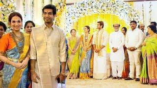 Soundarya Rajinikanth Wedding Reception | Vishagan Vanangamudi |Marriage Video - Filmy Focus - Tamil