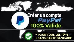 CREER UN COMPTE PAYPAL GRATUIT ET VALIDE POUR TOUS LES PAYS (EN 2020) 💳❌