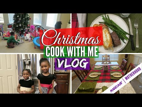Christmas 2017 | COOK WITH ME VLOG | Christmas Eve | Christmas Recipes + Christmas Dinner