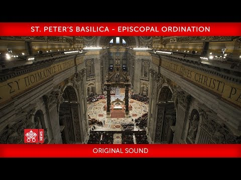 St. Peter's Basilica - Episcopal Ordination 2019-06-22
