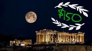 Gambar cover What a $150 AirBNB looks like in Athens Greece. In the shadow of the Acropolis!