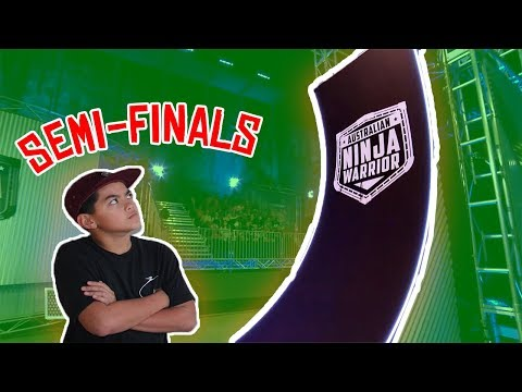 American Ninja Warrior Semi-Finals!