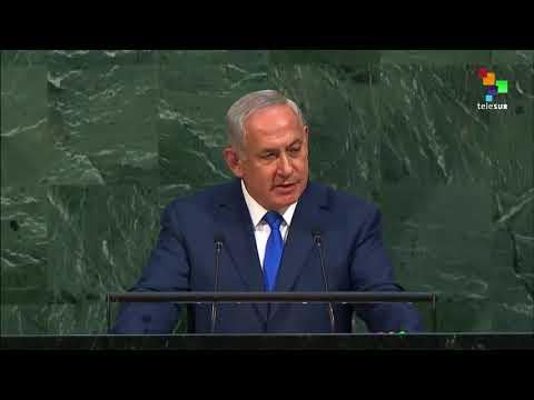 UN Speeches: Prime Minister Of Israel Benjamin Netanyahu