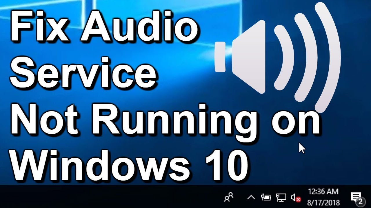 audio service is not running windows 10 access denied