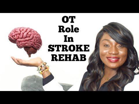 Stroke Rehabilitation : Occupational Therapy: PT: SLP