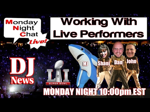 DJs Working With Live Performers And Lady Gaga Halftime Show | #DJNTVLive