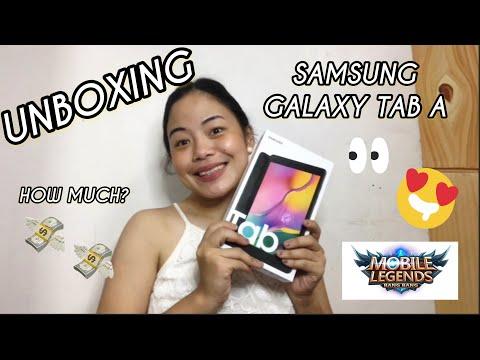 "UNBOXING SAMSUNG GALAXY TAB A 8.0"" 2019 | PRICE | Lili's Vlogz | Philippines"
