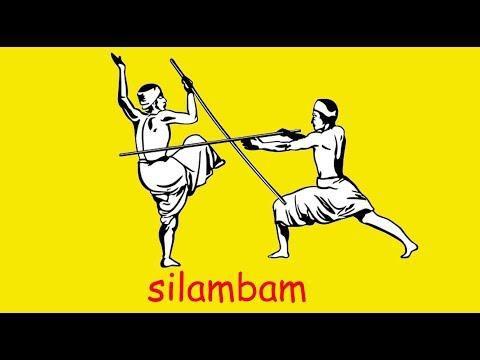 Silambam steps