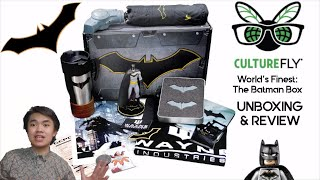 CultureFly World's Finest -  The Batman Box (Unboxing & Review)