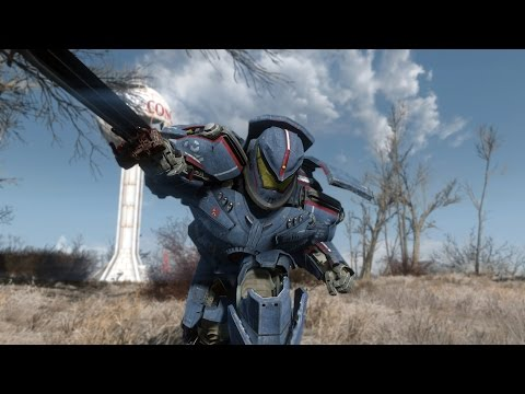 Gipsy Danger Power Armor - Fallout 4 Mods (PC/Xbox One)