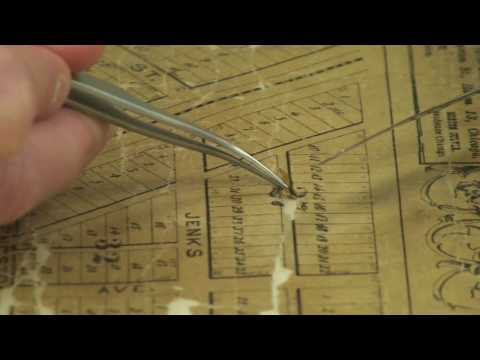 Library Restores and Digitizes Oldest Known Map of Evanston