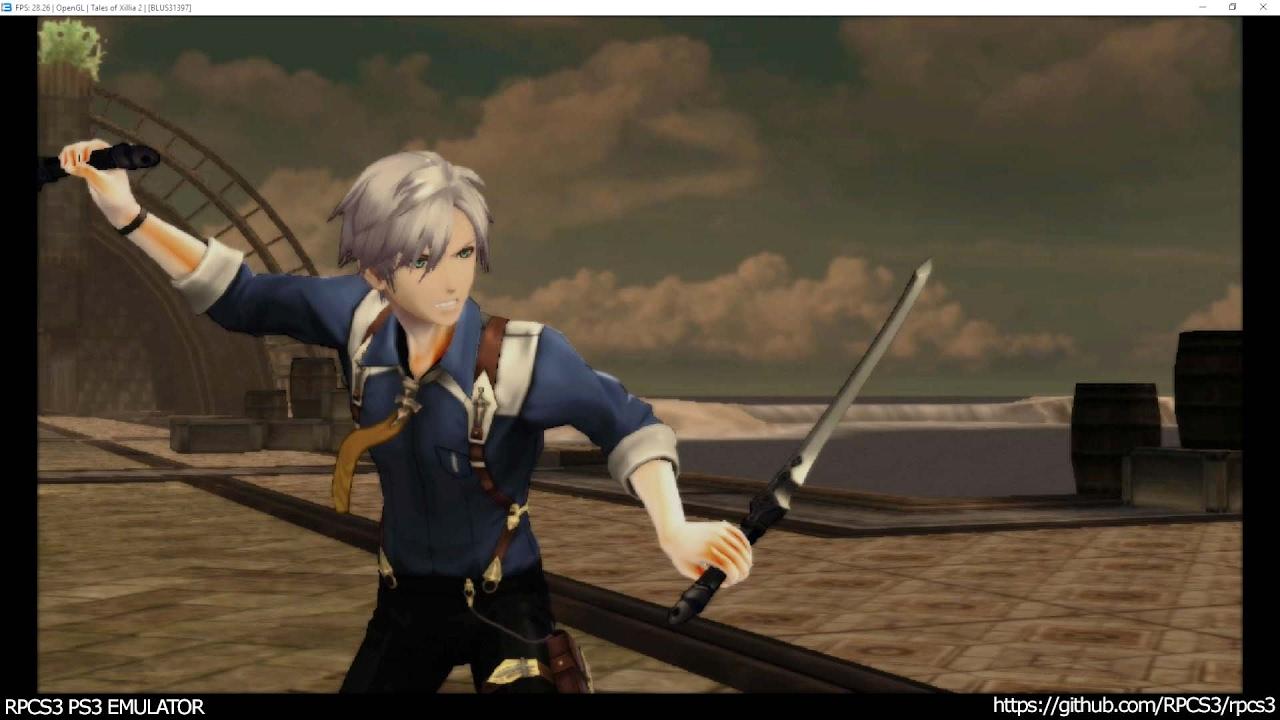 RPCS3 PS3 Emulator - Tales of Xillia 2 Ingame! OGL (b7a7a5c5)