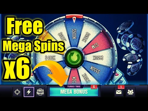World Series Of Poker : #3♣️Free 6 Mega Spins♣️Hit The Table Now...♣️