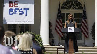 First lady Melania Trump celebrates anniversary of 'Be Best' initiative