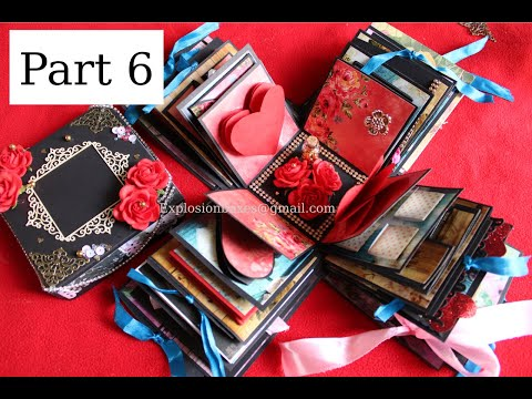 TUTORIAL PART 6 - 5 LAYERED EXPLOSION BOX | DIY GIFT IDEAS |EXPLODING BOX | EXPLOSION BOXES