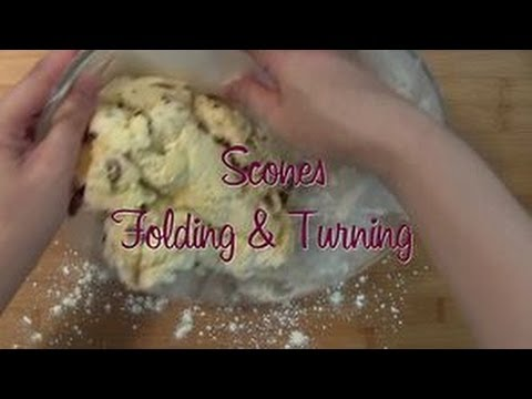 The Secret Of Scones: How To Pat And Fold Scone Dough (part 1)