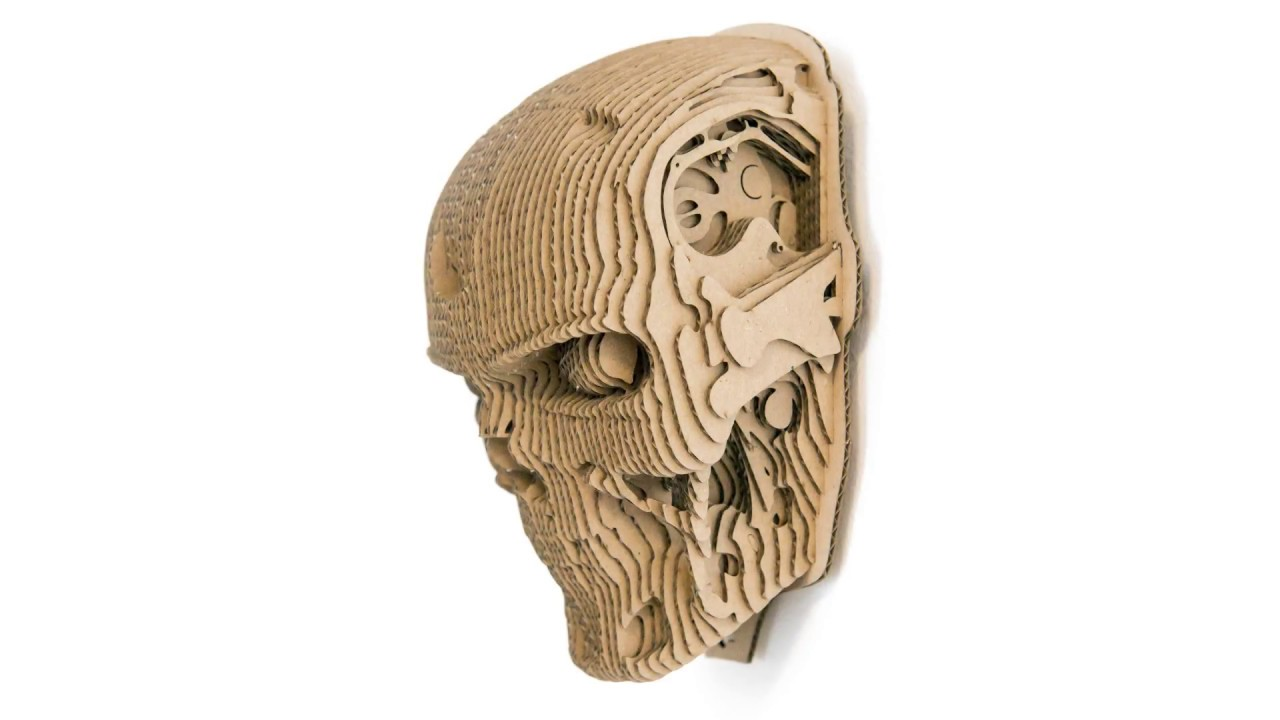 T800 cardboard head trophy youtube t800 cardboard head trophy maxwellsz