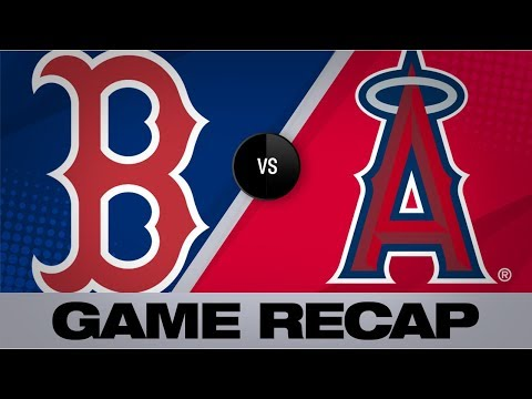 Angels score 7 in 8th to surge past Red Sox   Red Sox-Angels Game Highlights 8/31/19  