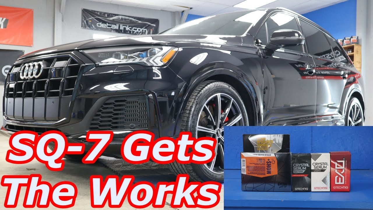 Ceramic Coating Process - Audi SQ-7 Gets The WORKS