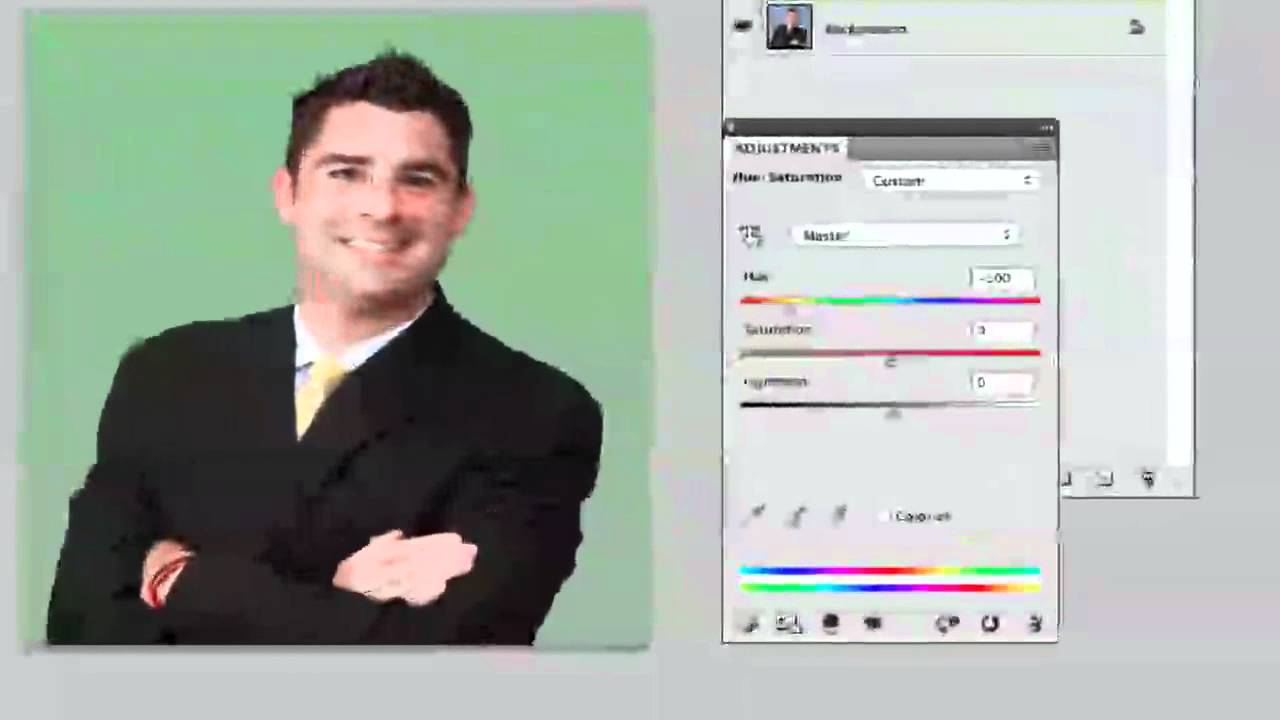 Photoshop CS5 Tutorial   How To Change Background Color   YouTube