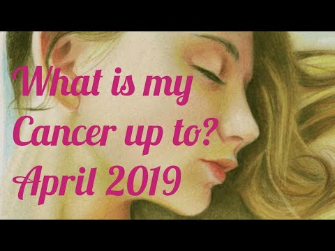 Cancer Cross Watcher April 2019 - Tons Of Fish In The Water, So The Waters I Will Test..