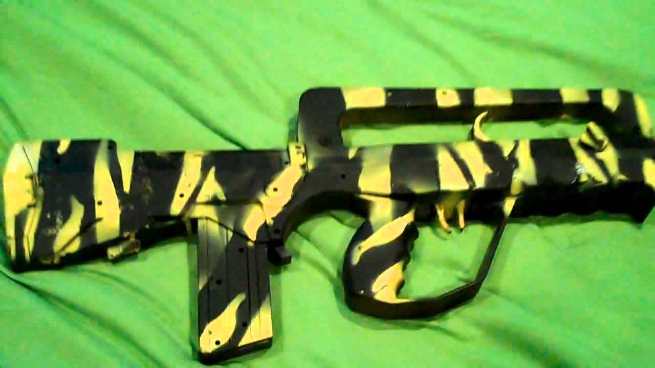 Spray Painted Gun