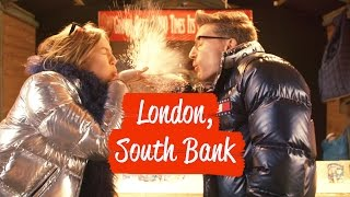 SNOW & IGLOOS BY THE THAMES - PROUDLOCK & EMMA-LOU'S FESTIVE DAY IN LONDON
