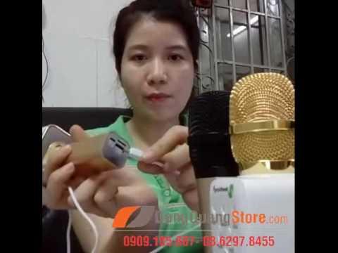 Giới thiệu và hướng dẫn sử dụng mic kèm loa bluetooth hát karaoke Ys10
