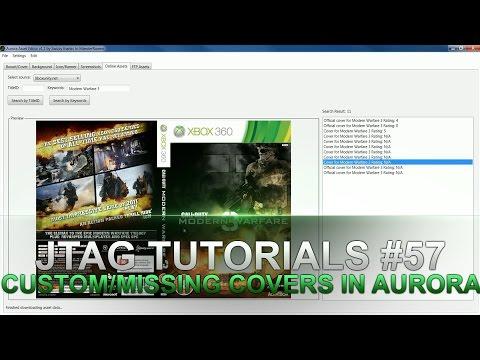 Jtag Tutorials #57 Adding Custom/Missing Covers To Aurora